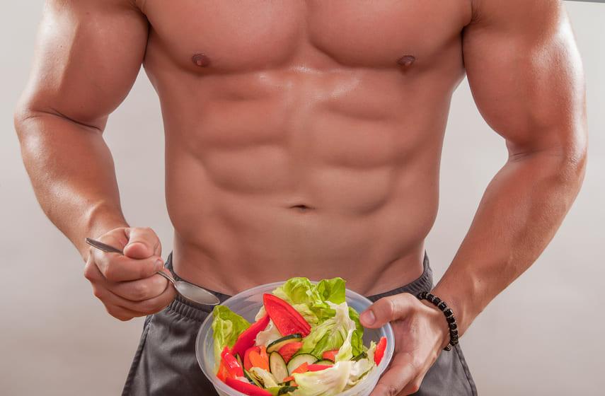اطعمة لبناء العضلات