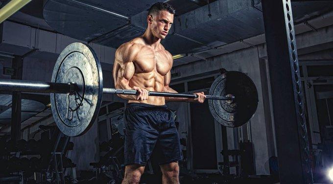 كيف تلعب تمرين عضلة الباي بالبار واسع