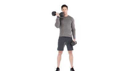 كيف تلعب دمبل تبادل عضلة الباي