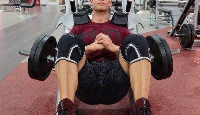 هاك سكوات عضلات الرجل