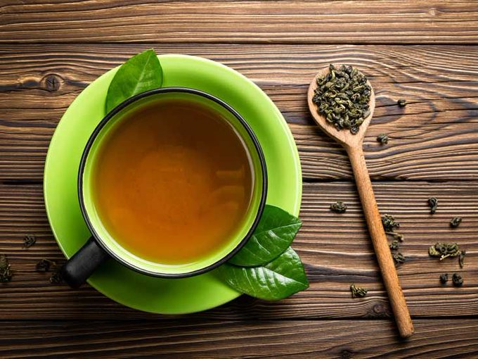 الشاي الاخضر افضل مشروبات التخسيس