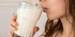 اضرار شرب الحليب قليل الدسم