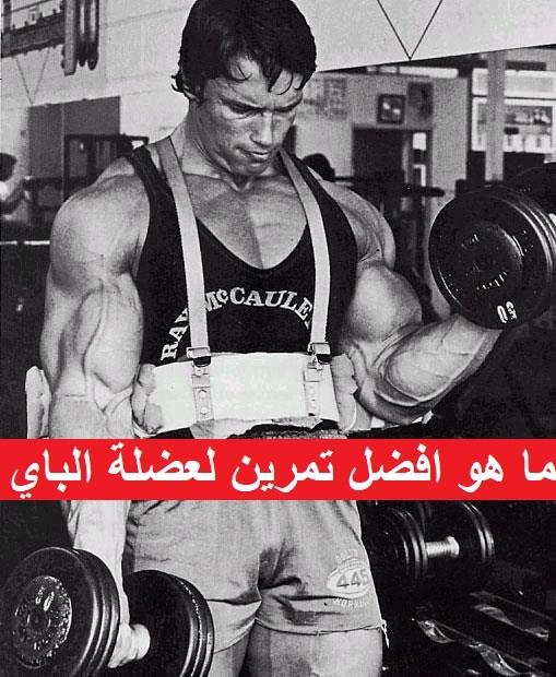 ما هو افضل تمرين لعضلة الباي ؟