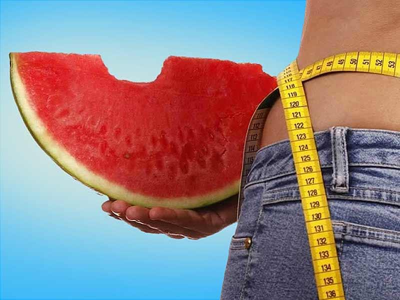 هل البطيخ جيد لخسارة الوزن؟