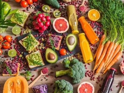 نظام غذائي نباتي غني بالبروتين